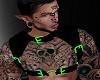 [P] Blk/Grn Harness