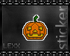 [xx]Jack Pumpkin Sticker