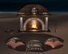 Romance Cples Fireplace