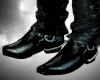 !S! Cowboy Boots, Black