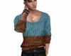 sweater bl/brw