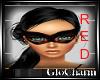 Glo* Ballroom Mask~R/B