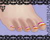 ♆ WLW Toes