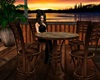 Tobago Sunset Bar Table