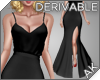 ~AK~ Seductive Slit Gown