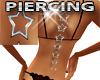 S Star Back Piercing