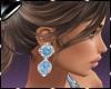 Earring Fani Aqua