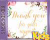 Kids Support Sticker