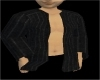 Black Pinstripe Jacket