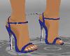 """Matching Blue 5"""" Heels"""