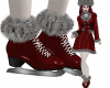 Greta Ice Skate Red
