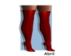 High Boots Red RLL