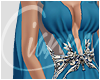 Req basil soda Blue gown