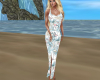 beach flamingo dress
