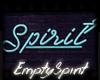 Neon Spirit Sign