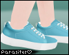 P|Blue sneakers