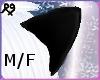 Black Wolf Ears M/F
