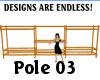 ~Oo Pole03 Oak B.A.S.