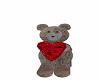 teddy bear needs a home