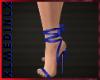 Blue Hight Heels