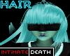 Light Blue Long Hair