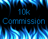 10k Commission Sticker