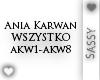 Ania Karwan - Wszystko 1