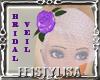 ! Lilac Bride Veil