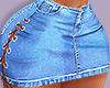 Laced Up Mini Skirt RLL