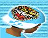 *CA* Blue Tiger Hat