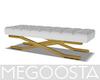 Gold Detail Bench