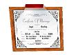 wedding license
