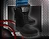 *E* Black boots