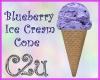 C2u~ Blueberry Cone