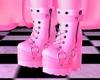 S! Femboy Shoes Pinku