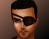 Warrior Leather eyepatch