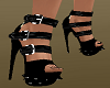 Cool* Black Spike Shoes