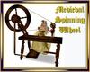 Medieval Spinning Wheel