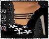 Black Heels White Flower