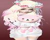 Rock Pink Teddy Dolls