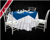 Blue Rose Dining Table