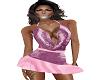 pink velvet mini