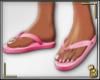 {B}Flip Flops (pink)