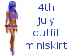 4th july miniskirt