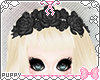 [Pup]Black Rose Headdres