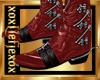 [L] Zipper RED Boots M