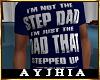 """a"""" Dad SteppedUp T Blu"""