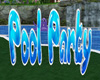 s~n~d 3d pool party sign