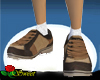 Brown Patch Sneakers