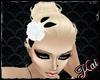 ::K:: Rose Clip White